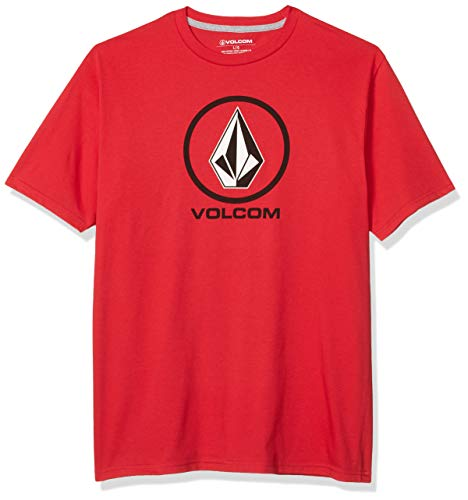 Volcom Herren Crisp Stone S/S Tee T-Shirt, rot, X-Groß