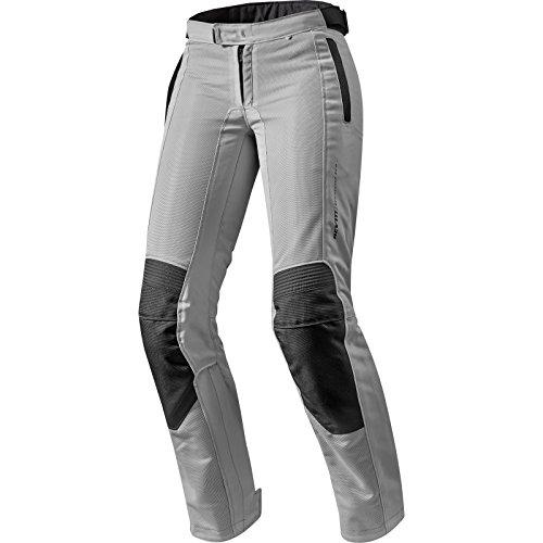 FPT073 - 0173-L42 - Rev It Airwave 2 Ladies Motorcycle Trousers 42 Silver Long