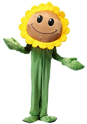 Plants Vs. Zombies Sunflower Costume for Kids Small
