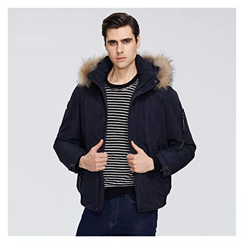 TBAO New Winter Herrenmantel Mode Herrenbekleidung Kapuzenjacke (Color : M460, Size : 50)