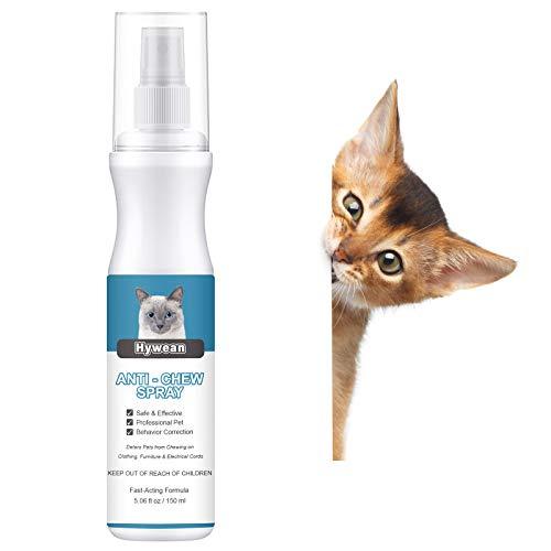 Hywean Cats Spray Anti Arañazos Spray Antimordeduras para Perros Y Gatos para Evitar Masticar Protege Los Muebles 150 Ml