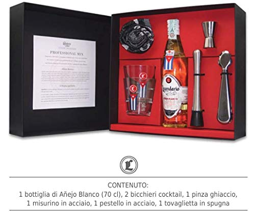 RON ANEJO BLANCO 5 AOS 70 CL MAGIC PACKAGE MIX