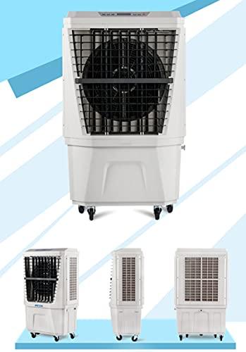 FYHpet Refrigerador de Aire evaporativo al Libre para Exteriores - 3 Modos/velocidades, acondicionador portátil del refrigerador pantano con Ventilador y humidificador fábrica, Restaurante