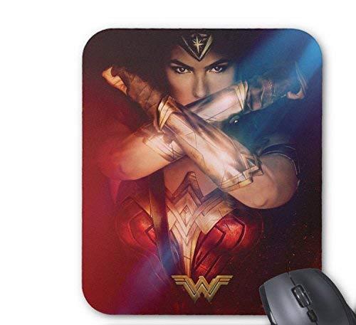N\A Wonder Woman Bloqueo con Pulseras Alfombrilla de Raton