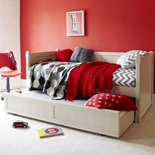 ASPACE Charterhouse Daybed Frame With Trundle in Taupe