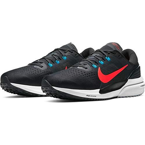 Nike Air Zoom Vomero 15, Zapatillas para Correr Hombre, Off Noir BRT Crimson Lt Blue Fury Particle Grey White, 46 EU