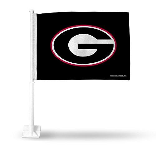 Rico Industries NCAA Georgia Bulldogs G Logo KFZ Flagge