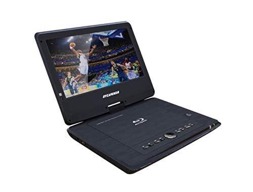 Portable Blu-ray Player with Swivel Screen - Black- SDVD1079 (Renewed) 4