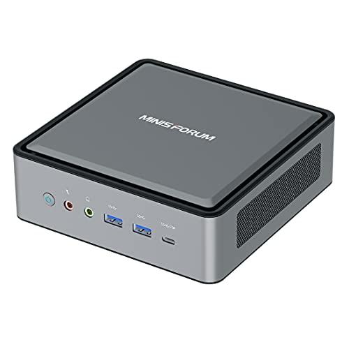 HM80 Mini PC AMD Ryzen 7 4800U 8C/16T| 16 GB RAM 512 GB M.2 SSD | Gráficos AMD Radeon 1.75GHz| Windows 10 Pro| Intel WIFI6 AX200 BT 5.1| HDMI/DP/USB-C | 2X RJ45 | USB 3.1 Gen 2