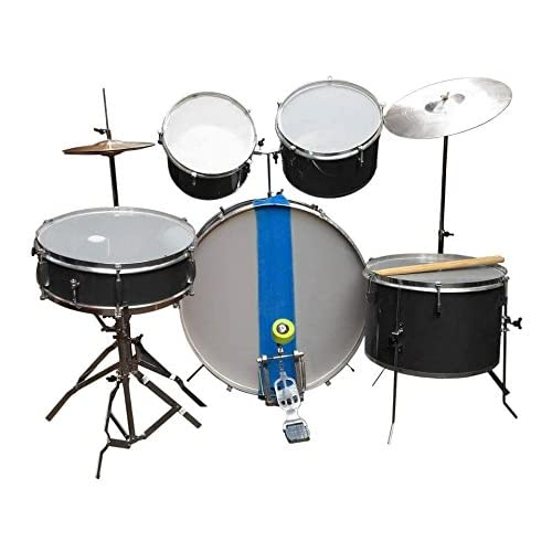 AMBITION Basic Drum Kit (Black) - Set of 7