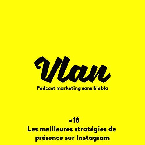 Les meilleures stratégies de présence sur Instagram pour une marque (Vlan 18) audiobook cover art