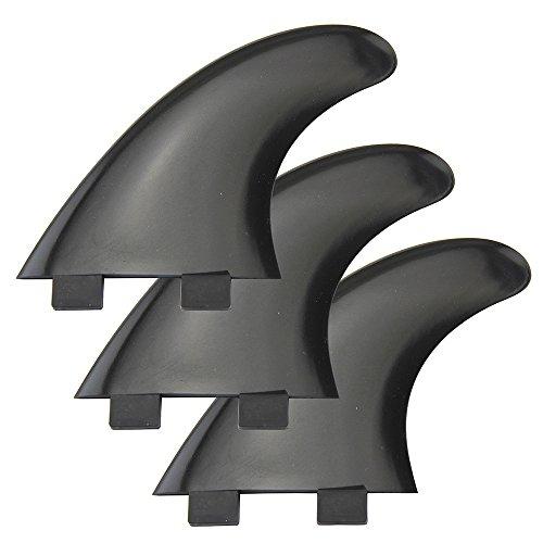 Aletas Tri G5 para tablas de surf para aletas FCS Aletas de surf SUP 1 centro + 2 laterales 3 colores