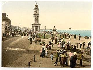 HistoricalFindings Photo: [Clock Tower, Herne Bay, England] (LOC)