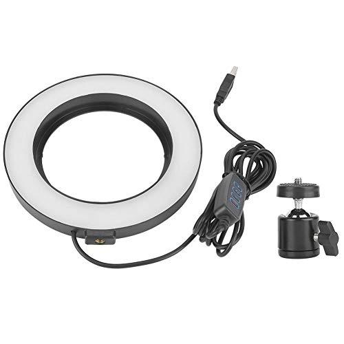 Fotografie Invullicht, dimbaar licht Videolampen op de camera Ringlicht Uitzending Live fotografie Invullicht LED-cameratelefoon Flitser voor video en make-up