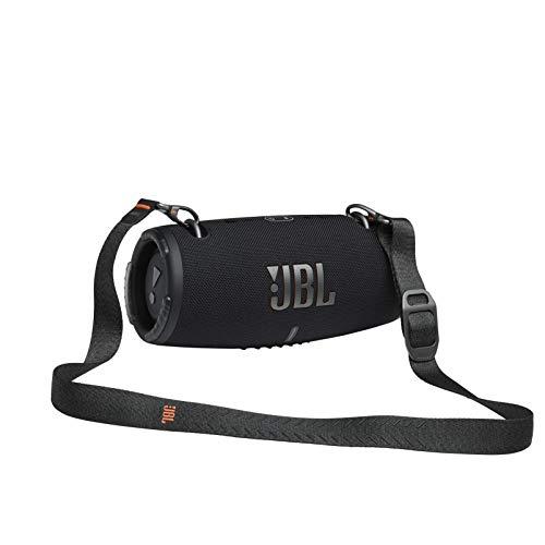 JBL Xtreme 3 - Altavoz Bluetooth portátil resistente al agua (IP67) y al polvo con PartyBoost y 15h de reproducción continua, negro