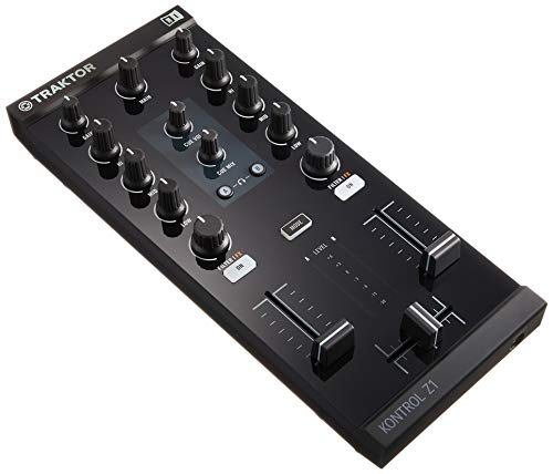 Native Instruments TKZ1 Traktor Kontrol Z1, Nero