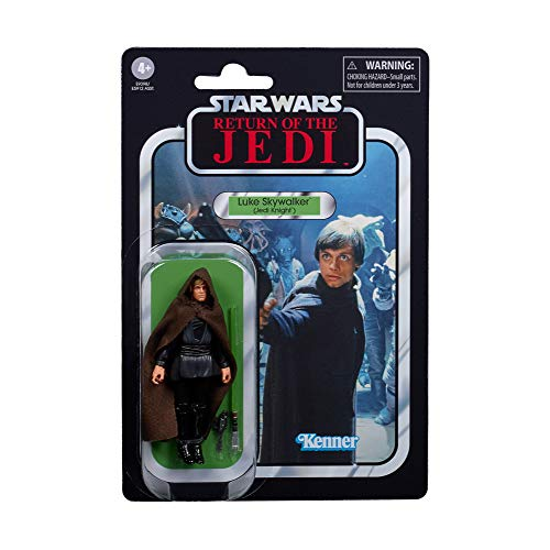 Star Wars The Vintage Collection Luke Skywalker (Jedi Knight) Toy, 3.75-Inch-Scale Return of The Jedi Figure, Kids Ages 4 and Up