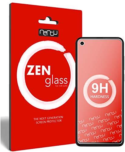 ZenGlass (2 Stück Flexible Glas-Folie kompatibel mit Motorola One Action Panzerfolie I Bildschirm-Schutzfolie 9H I (Kleiner Als Das Gewölbte Bildschirm)