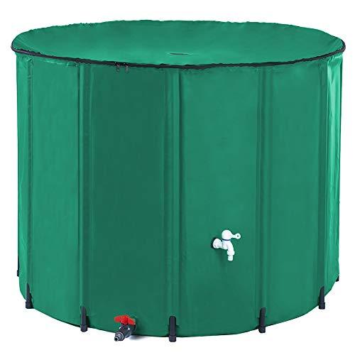 HOSANA 264 Gallon Rain Barrel Water Collector Collapsible...