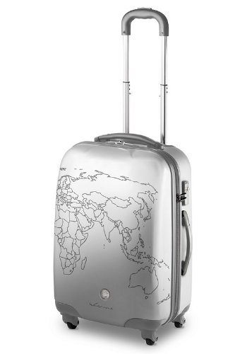 TROLLEY GRANDE RONCATO CIAK TO-DO - 4 RUOTE - TSA - PERSONALIZZABILE (SILVER)
