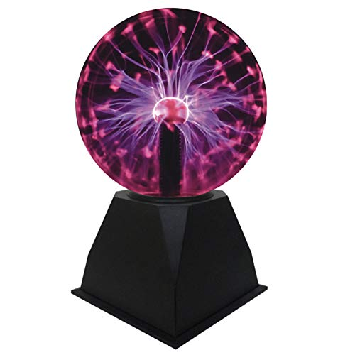 Goeco Plasma Ball Licht Durchmesser 13 cm Sensitive Touching Ion Sphere Lampe Neuheit Magic Crystal Ball Nachtlichter
