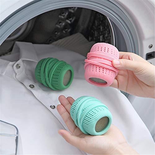 Sfere Per Bucato, Sfere Anti-avvolgimento Per Lavatrice Sferas Per Lavatrice Sfere Per Lavaggio Detergente Per Peli Di Animali Domestici Sfere Per Bucato, Sfere Per Asciugatrice Riutilizzabili Sfere