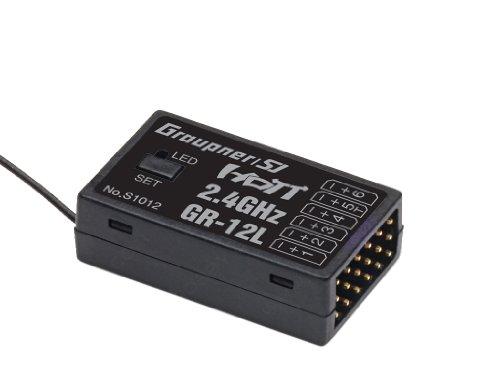 Graupner S1012 Empfänger GR-12L HoTT 2.4 GHz 6 Kanal