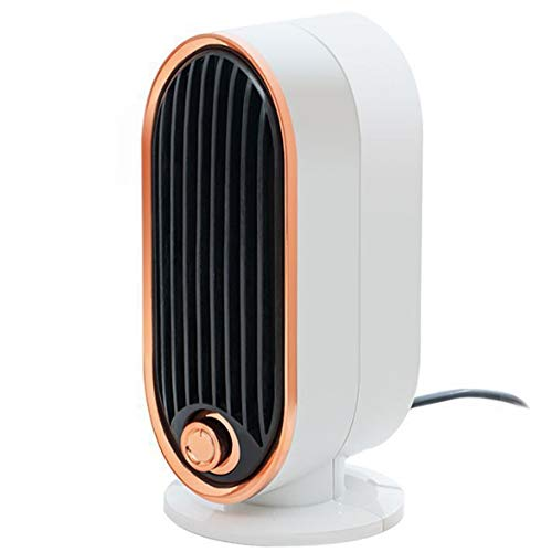 New Two-speed adjustable temperature white mini vertical heater, 700W electric heating wire heater (...