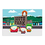 Populäres Anime-Poster South Park, Leinwand, Schlafzimmer,