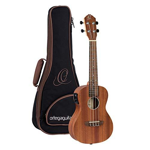Ortega Guitars Konzert Ukulele - Timber Series - elektro-akustisch - inklusive Gigbag - Sapele, Mahagoni (RFU11SE)