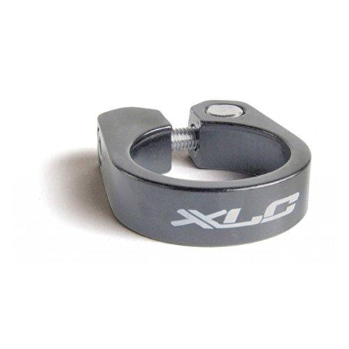 XLC PC-B09 Collier de Selle Mixte-Adulte, Gris, 3.5 x 3.5 x 3.5 cm