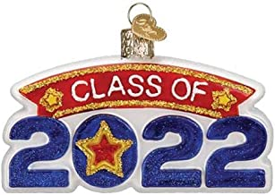 Old World Christmas Class of 2022 Glass Blown Christmas Tree Ornament