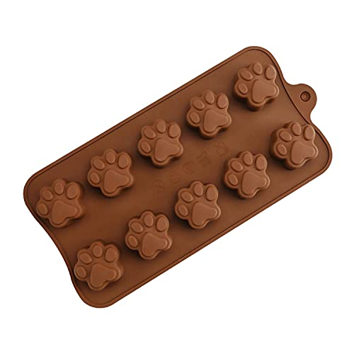 Silicone Chocolate Moulds, 1 Pack Non-Stick Chocolate Mould BPA Free...