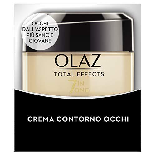 Olaz Total Effects 7 in 1 Crema Trasformante Contorno Occhi, 15 ml