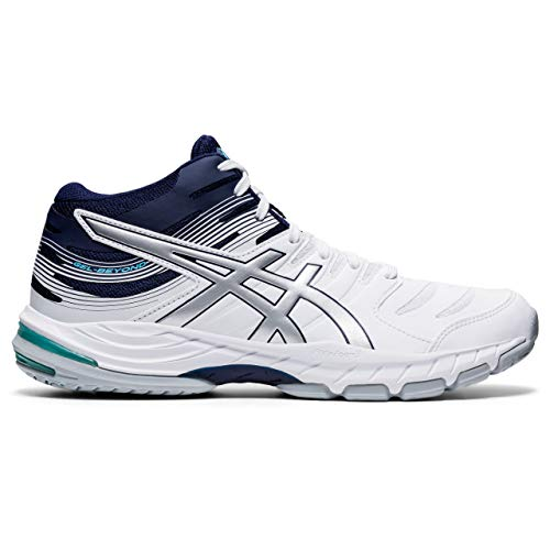 ASICS Herren Gel-Beyond MT 6 Volleyball-Schuh, White Peacoat, Numeric_45 EU