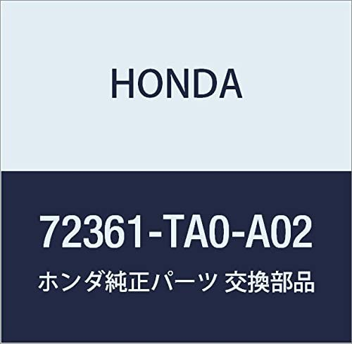 Genuine Honda Popular products 72361-TA0-A02 Door Hole Front Seal Popular brand in the world Left
