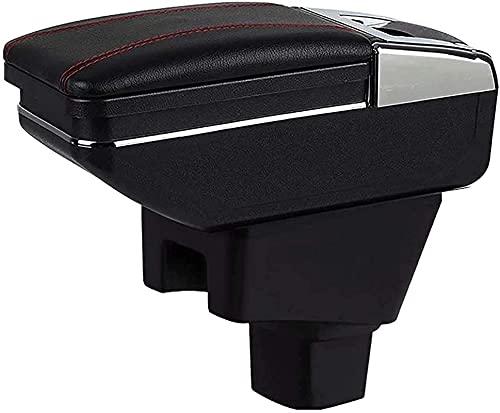 Apoyabrazos para Suzuki SX-4 2007-2013 Caja De Almacenamiento De Caja De Reposabrazos De Consola Central De Coche con Portavasos Reposabrazos De Coche (Color : 2)