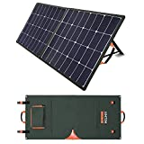 AIMTOM 100W Foldable Solar Panel, High Efficiency Monocrystalline Fast Charging Power Stations,...