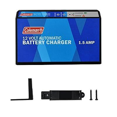 Coleman Coleman 12V 1.5A Smart Battery Charger/Maintainer/Rejuvenator