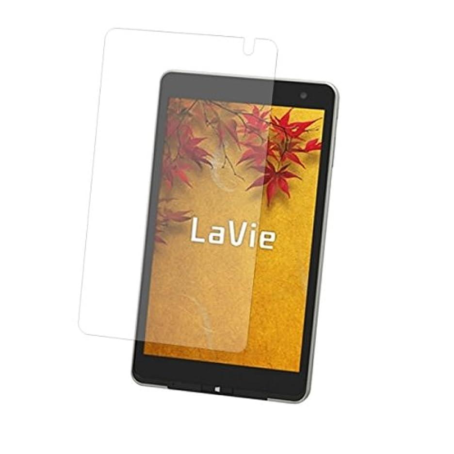 致死パワー教授NEC LaVie Tab W TW708/T1S 8???タブレット 用 液晶保護フィルム  防指紋(クリア)タイプ