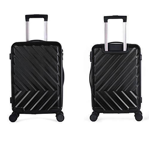 CHOUCHOU Shelves Trolley Suitcase Universal Wheel Trolley Case 24 Inch Large Capacity Trolley Case Password Box trunk (Color : Black, Size : 24 inches),Size:24 inches,Colour:Rose Gold Flower Pot Rack