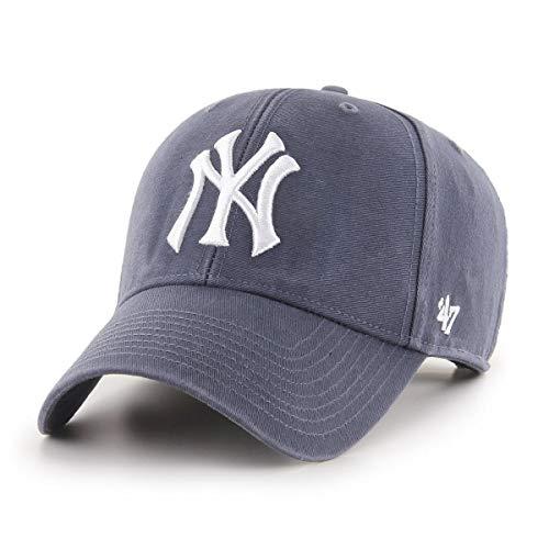47 Brand New York Yankees Adjustable Cap MVP Legend MLB Vintage Navy - One-Size
