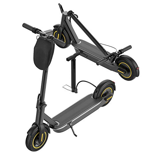 """PROMAX5. APP High Speed Electric Scooter for Adults with 350W Motor 10"""" Pneumatic Tires, Cruise Control and 1-Step Portable Folding Scooter for Commute and Travel"""