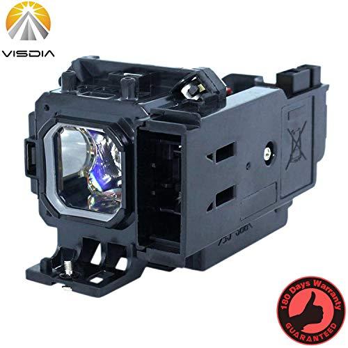 Visdia VT80LP/LV-LP27 - Lampada di ricambio con alloggiamento per proiettori Nec VT48 VT49 VT57 VT58BE VT58 VT59G VT59 VT58G Canon LV-X6 LV-X7