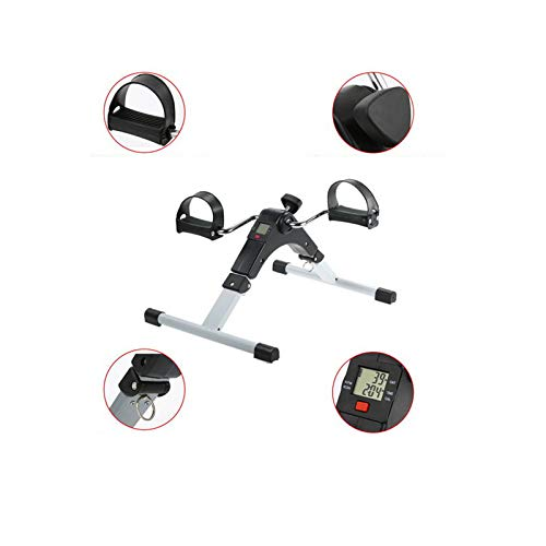 Vinteky Arm and Leg Folding Pedal Exerciser with Digital Display and Variable Resistance