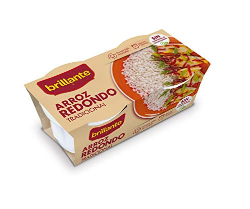 Brillante Arroz Redondo, 2 x 125g