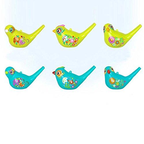 TOOGOO Farbig Zeichnung Wasser Vogel Pfeifen Badezeit Musical Spielzeug fuer Kinder frueh Lernen paedagogische Kinder Geschenk Spielzeug Musikinstrument