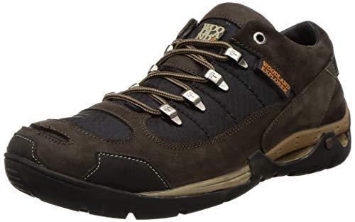 Woodland Men's Russia DBROWN Leather Sneaker-7 UK (41 EU) (8 US) (GC 2870118)