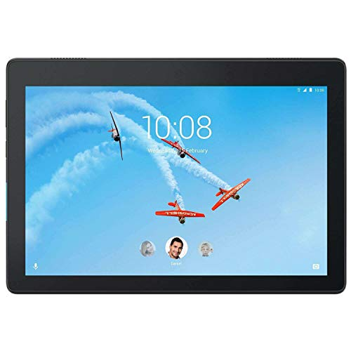 Lenovo Tab E10 TB-X104L (ZA4C0008GB) 10.1' HD Tablet (Qualcomm Snapdragon MSM8909 Processor, 2GB RAM, 16GB Storage, 4G LTE, Android Oreo)