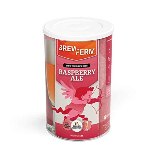 """Brewferm® Bierkit """"Rasberry Ale"""" -  12 Liter, erfrischendes Bier mit fruchtigem Himbeer-Aroma, Bier selber brauen"""